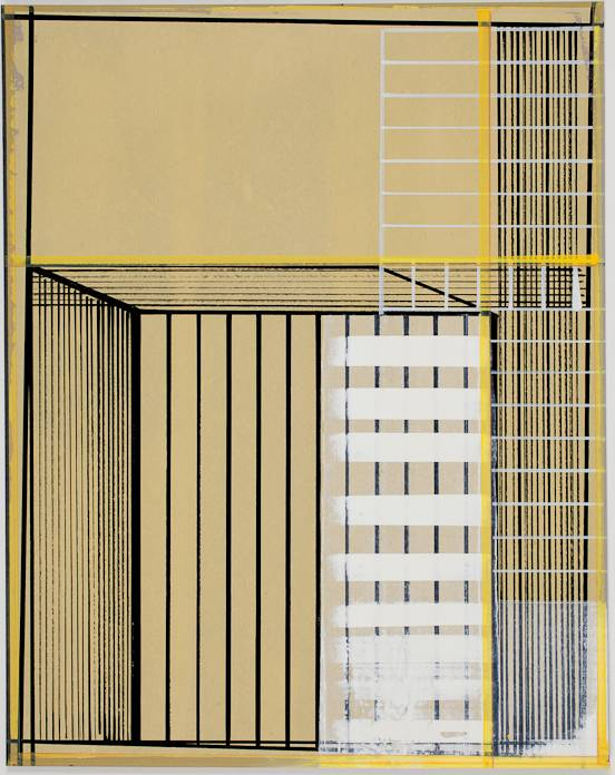 Todd McDaniel Untitled (Gold), 2014