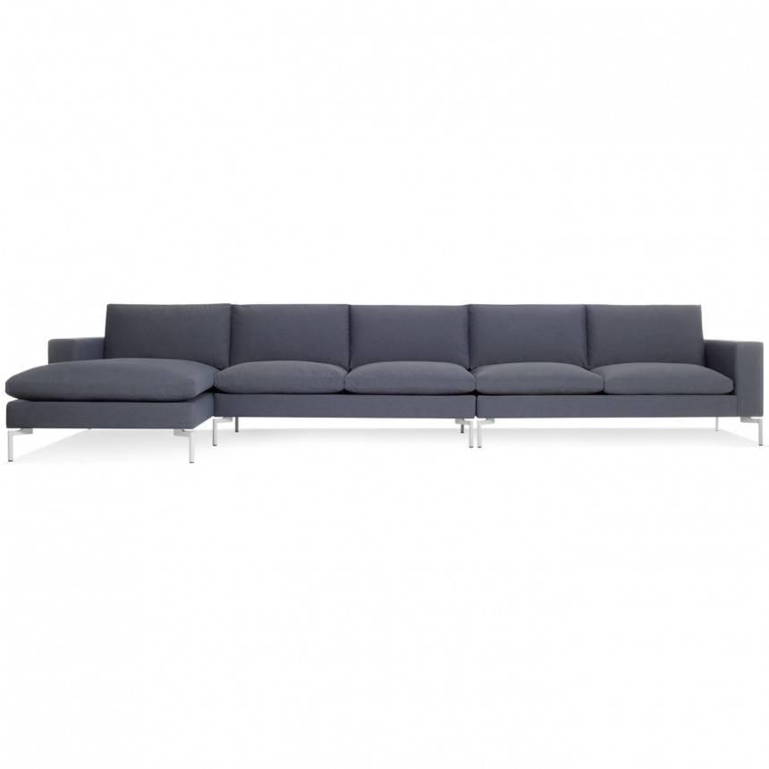 Blu Dot New Standard Left Sectional Sofa Fabric