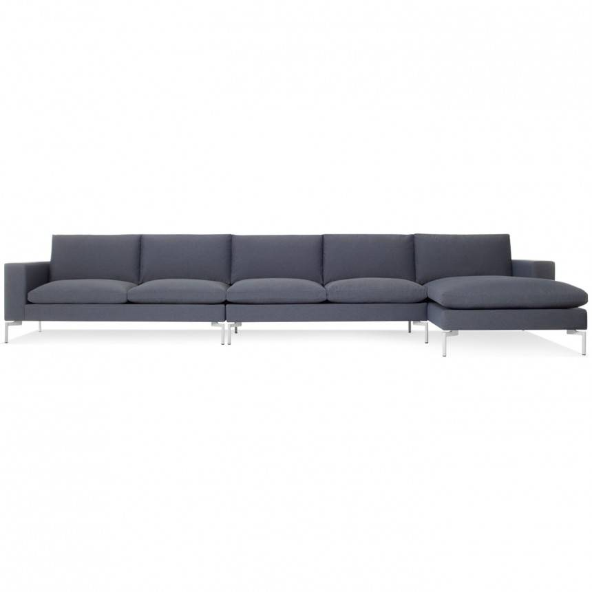 Blu Dot New Standard Right Sectional Sofa Fabric