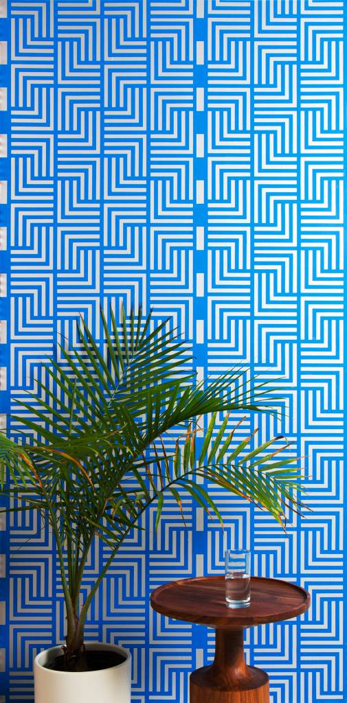 "New Hat Blue Nile Wallpaper (27"" x 30 ft. Roll) Cobalt"