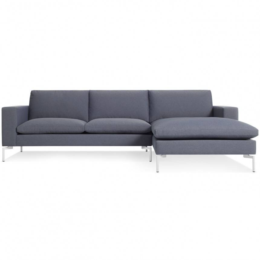 Blu Dot New Standard Sofa W/ Right Arm Chaise Fabric