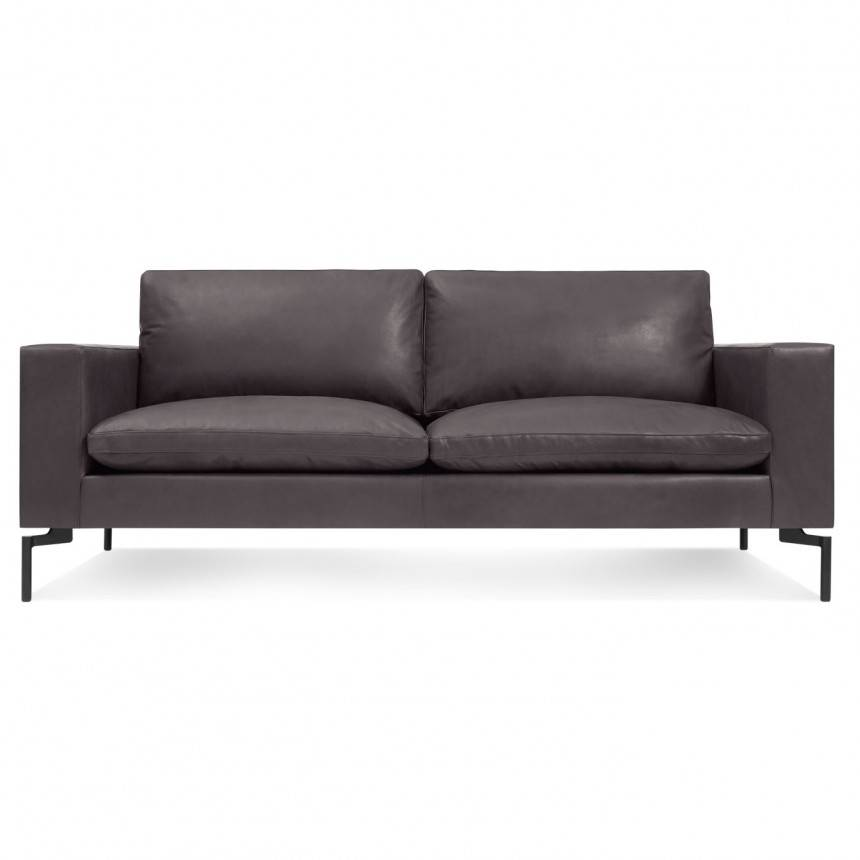 Blu Dot New Standard Leather Sofa