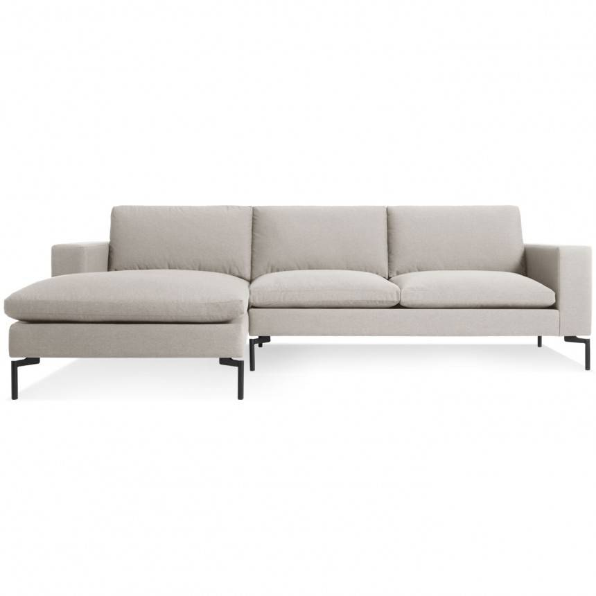 Blu Dot New Standard Sofa W/ Left Arm Chaise Fabric