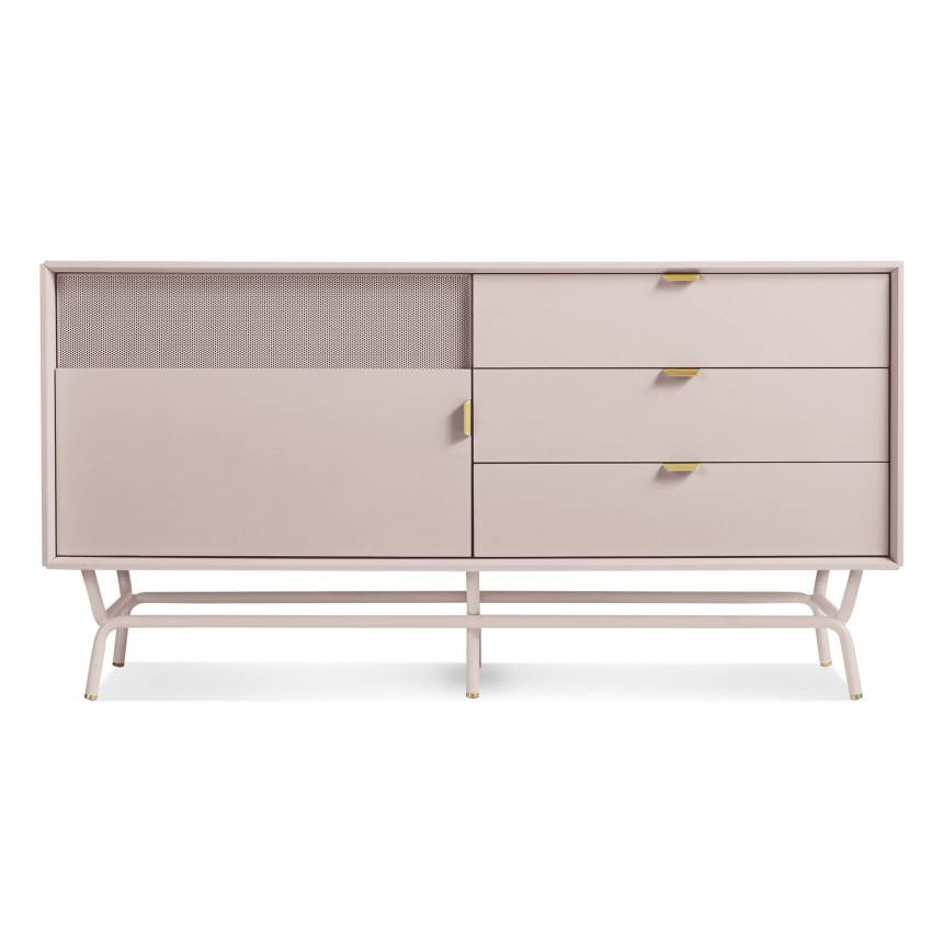 Blu Dot Dang 1 Door/3 Drawer Console