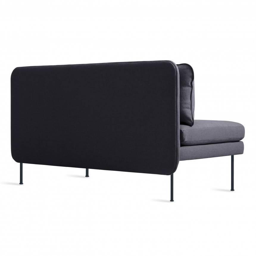 "Blu Dot Bloke 60"" Armless Sofa"