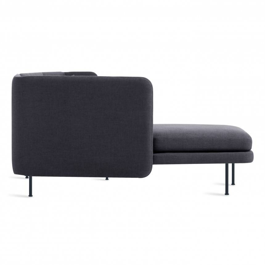Blu Dot Bloke Sofa with Left Arm Chaise