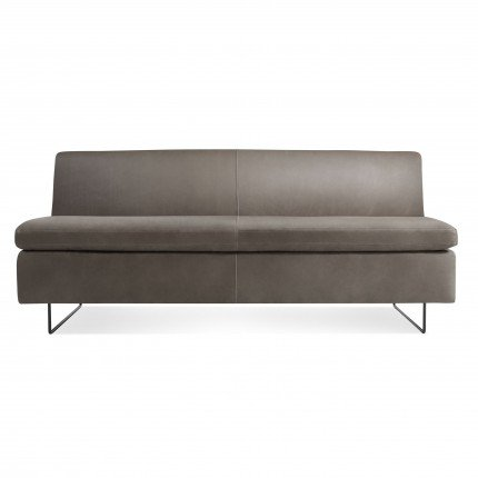 "Blu Dot Clyde 67"" Leather Sofa"
