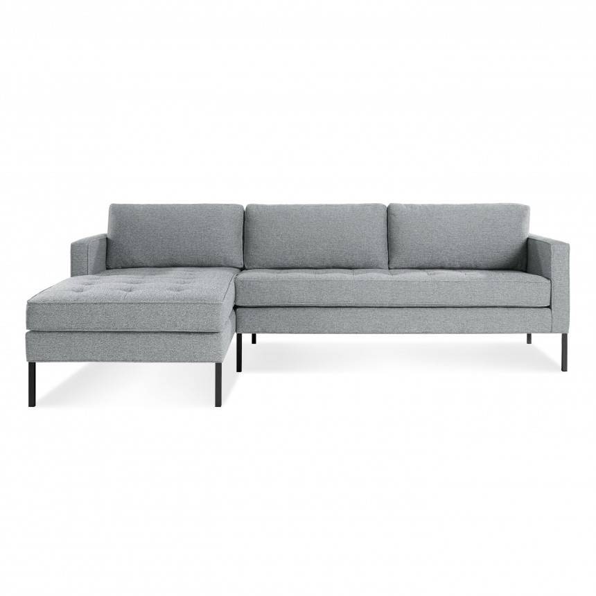 Blu Dot Paramount Sofa with Left Arm Chaise