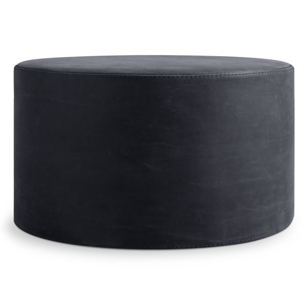 Blu Dot Bumper Leather Large Ottoman