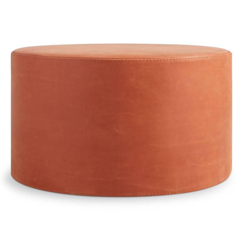 Blu Dot Bumper Leather Large Ottoman