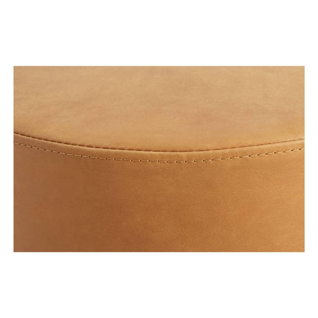 Blu Dot Bumper Leather Small Ottoman