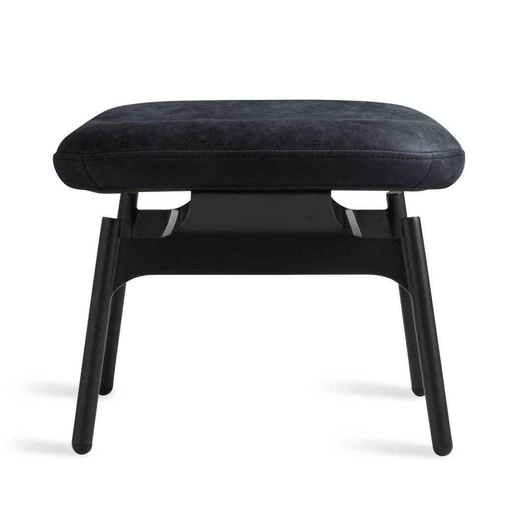 Blu Dot Field Leather Ottoman