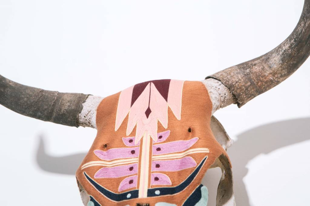 Evoke The Spirit Authentic Skull Copper Crescent