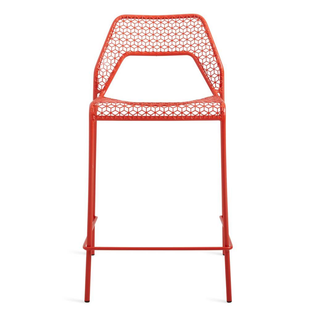 Blu Dot Hot Mesh Counter Height Stool