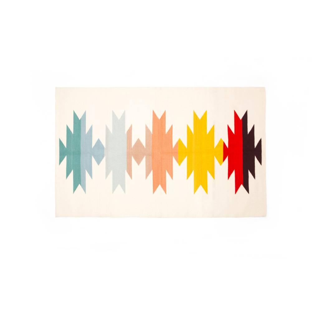 Evoke The Spirit Large Handwoven Rug Rainbow Shadow