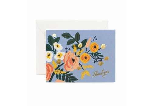 RIFLE PAPER CO CARTE LIVELY BLUE