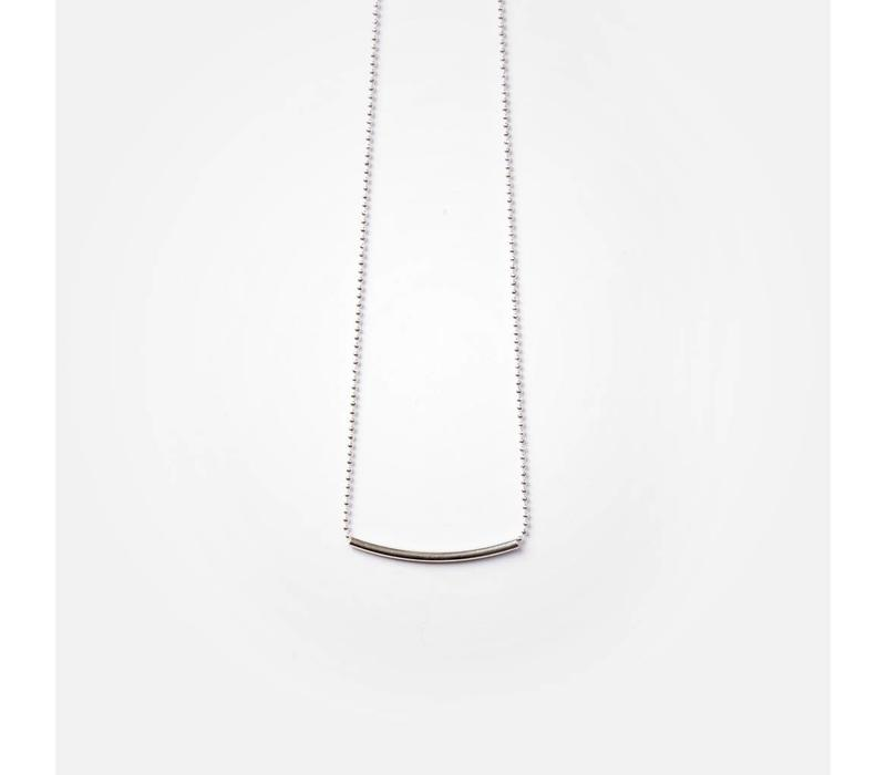 COLLIER CATE 24''- ARGENT
