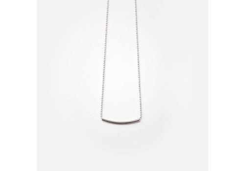 SI SIMPLE COLLIER CATE 18''- ARGENT