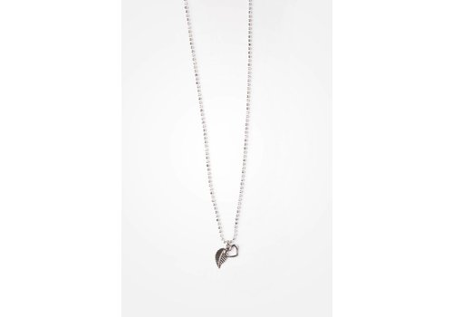 SI SIMPLE COLLIER ANYA 18''- ARGENT