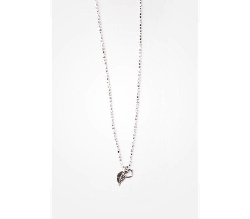 COLLIER ANYA 18''- ARGENT