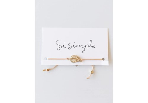 SI SIMPLE BRACELET MIA- ROSE & OR