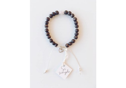 SI SIMPLE BRACELET ROSE- TAUPE