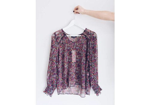 SOAKED IN LUXURY *DERNIÈRE CHANCE* BLOUSE GREER- small