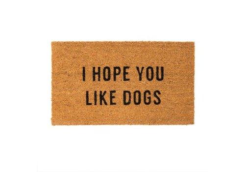 INDABA TAPIS - I HOPE YOU LIKE DOGS