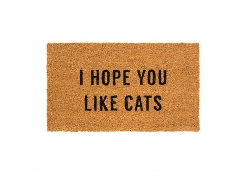INDABA TAPIS - I HOPE YOU LIKE CATS