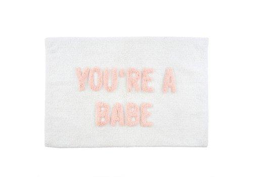 INDABA TAPIS DE BAIN - YOU'RE A BABE