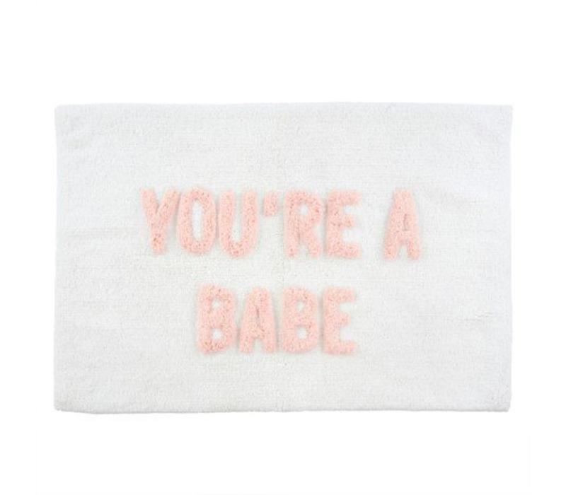 TAPIS DE BAIN - YOU'RE A BABE