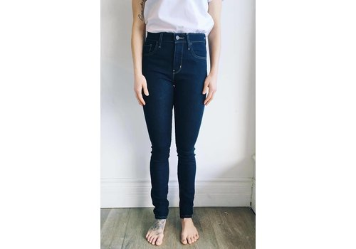 LEVIS JEANS 721 HIGH RISE SKINNY MIDNIGHT