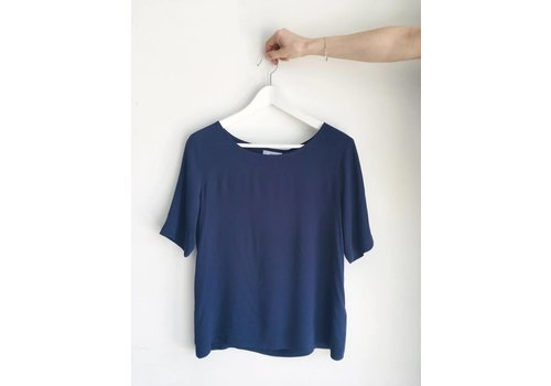 MINIMUM BLOUSE ELVIRE- MARINE