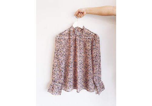 SOAKED IN LUXURY BLOUSE FLORIA