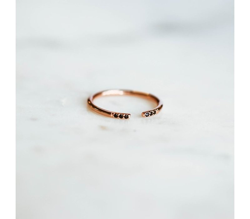 BAGUE NORA- ROSE GOLD