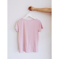 *DERNIÈRE CHANCE*  T-SHIRT COLUMBINE ROSE FROID - small