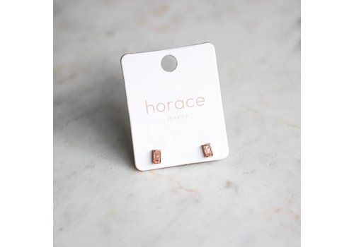 HORACE BOUCLES D'OREILLES PURE- ROSE GOLD