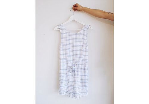 MINKPINK *DERNIÈRE CHANCE* PLAYSUIT SUPREME CHECK - LARGE