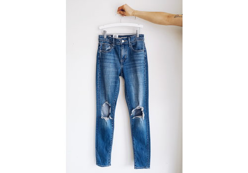 LEVIS JEANS 721 HIGH RISE SKINNY RUGGED IN