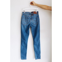 JEANS 721 HIGH RISE SKINNY RUGGED IN