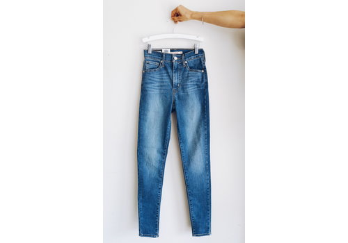 LEVIS JEANS MILE HIGH SUPER SKINNY - MEDIUM WASH
