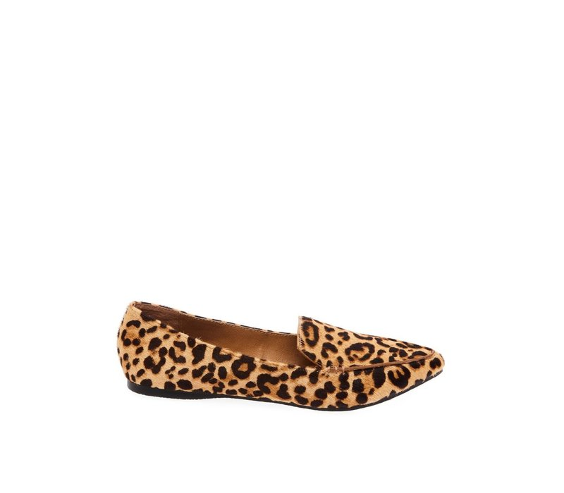 MOCASSIN FEATHER LEOPARD