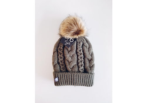ORB TUQUE MARSHMALLOW O/S - OLIVE