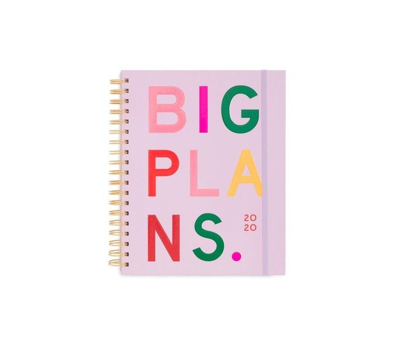 AGENDA LARGE 2020 - BIG PLANS