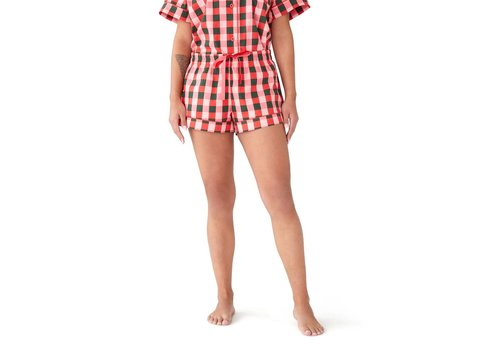 BAN.DO *DERNIÈRE CHANCE* MEDIUM / SHORT DE NUIT - BUFFALO PLAID