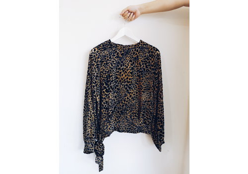 SOAKED IN LUXURY BLOUSE ASTRED - NOIR