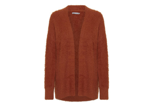 B.YOUNG CARDIGAN BYNOLA ROUILLE