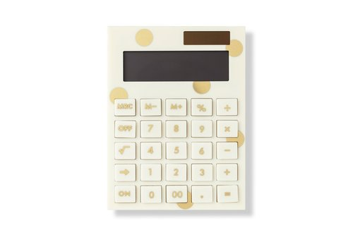 KATE SPADE CALCULATRICE EN ACRYLIQUE - GOLDEN DOTS