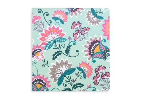 VERA BRADLEY CARTABLE - MINT FLOWERS