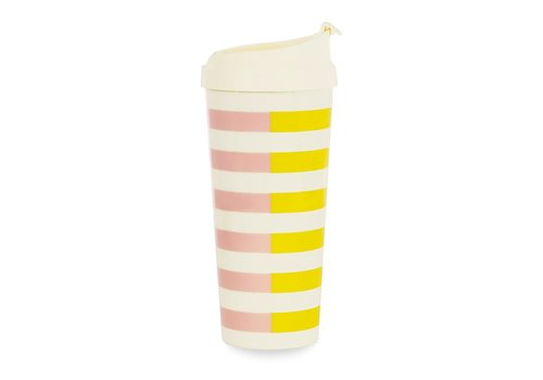 KATE SPADE TASSE À CAFÉ - TWO-TONE STRIPE